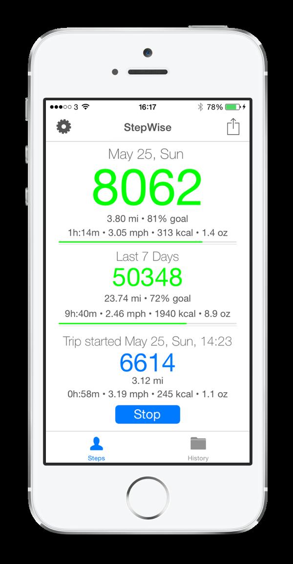 Step Meter App Iphone